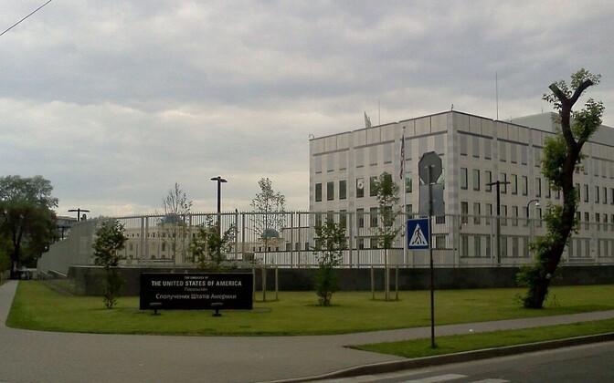 USA saatkond Kiievis.