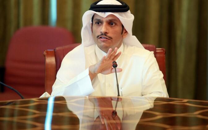 Katari välisminister šeik Mohammed bin Abdulrahman al-Thani.