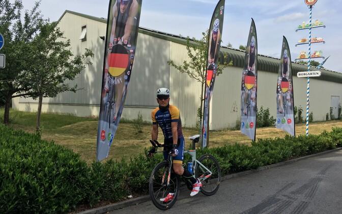 Rait Ratasepp võistluspaigas Emsdettenis