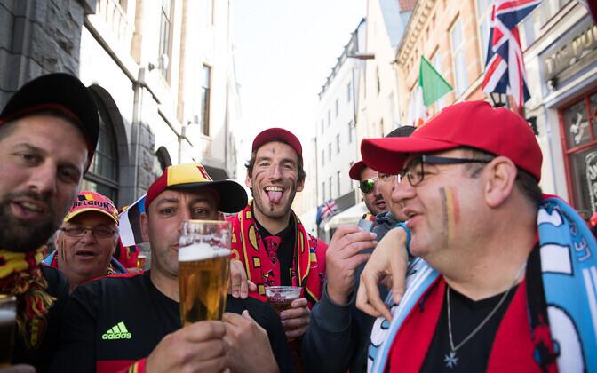 Belgia fännid