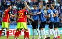 Jalgpalli MM-valikmäng Eesti - Belgia