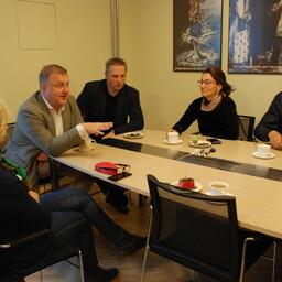 Toetusrühma kohtumine riigikogus.