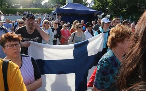 Sõpruskontsert Soome 100. sünnipäeva puhul.