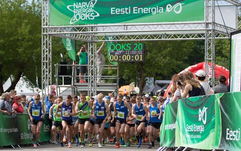 Narva Energiajooksu poolmaratoni start