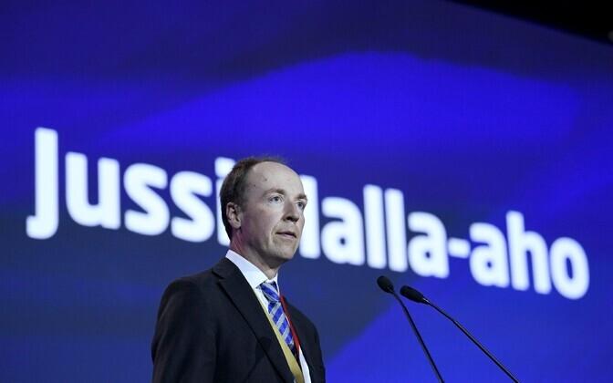 Põlissoomlaste uus juht Jussi Halla-aho.