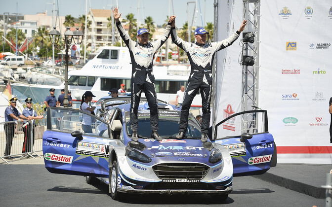 Tanak takes his first WRC win in Italy