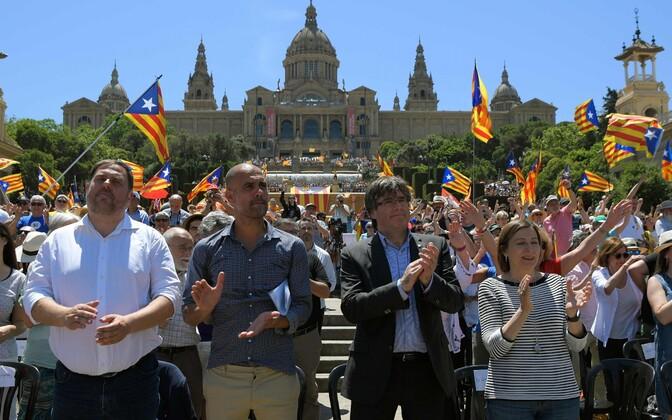Meeleavaldus Barcelonas 11. juunil.