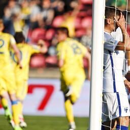 Soome jalgpallikoondis sai MM-valiksarjas viienda järjestikuse kaotuse