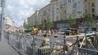Tverskaja ehk Tveri tänav Moskvas esmaspäeva ennelõunal.