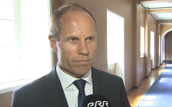 Rahandusmninister Toomas Tõniste.