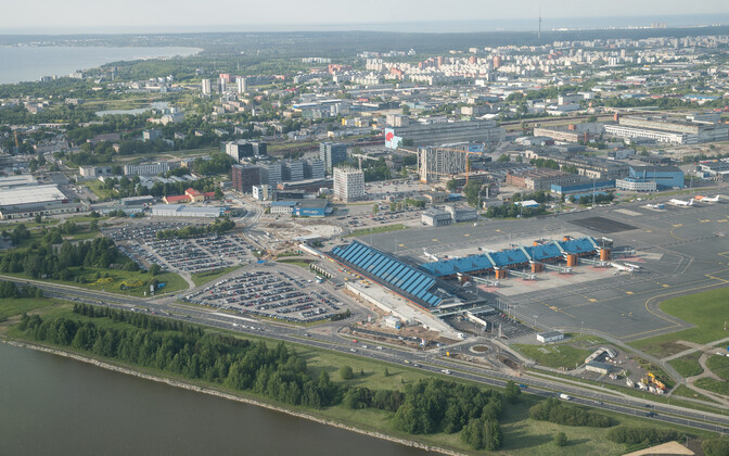 Вид на Таллиннский аэропорт