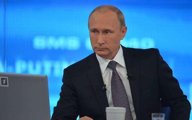 Успей задать собственный вопрос Владимиру Путину