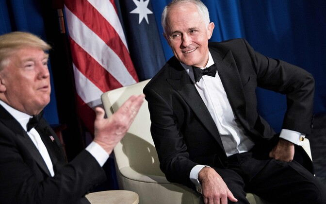 Trump ja Turnbull 4. mail USA-s.