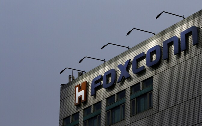 Foxconni peakorter Taipeis.