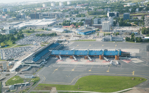 Lennart Meri Tallinn Airport is located within Tallinn city limits.