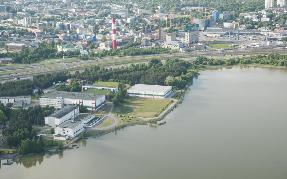 Водоочистная станция Юлемисте.