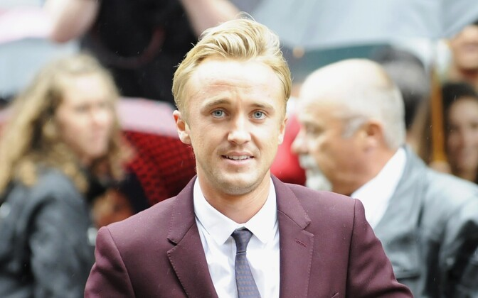 Tom Felton, British actor known for playing Draco Malfoy in Harry Potter movies