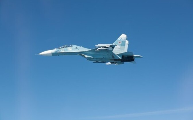 Russian Su-27. Image is illustrative