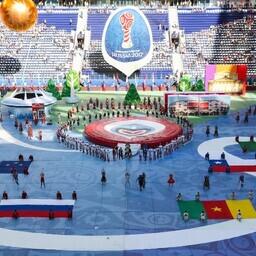 Открытие Кубка конфедераций в Санкт-Петербурге