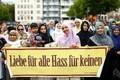 Moslemid marssisid Kölnis terrorismi vastu.
