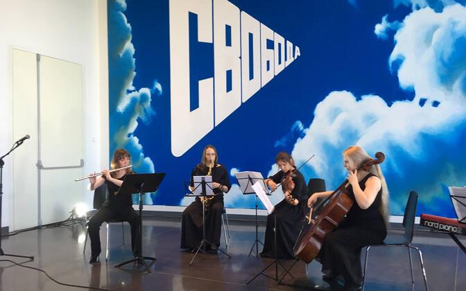 Arvo Pärdile pühendatud minifestivali kontsert Jeltsini Keskuses.