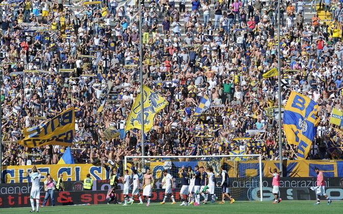 Parma jalgpallifännid