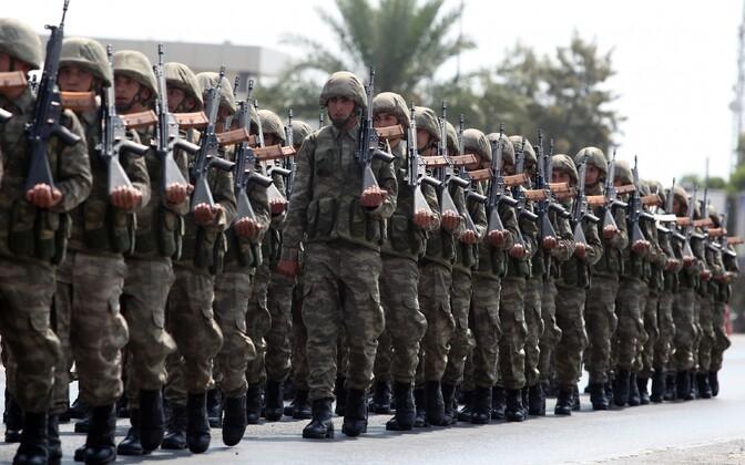 Турецкие солдаты. Иллюстративная фотография.