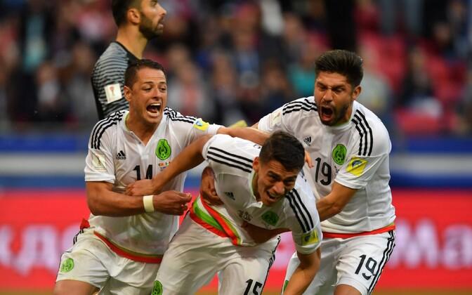 Mehhiko rõõmustab Portugali vastu viigi toonud värava üle