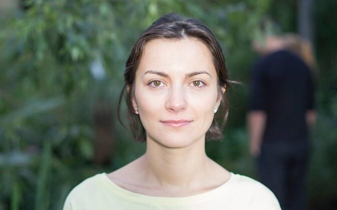 Chairwoman of the Estonian Greens, Züleyxa Izmailova.