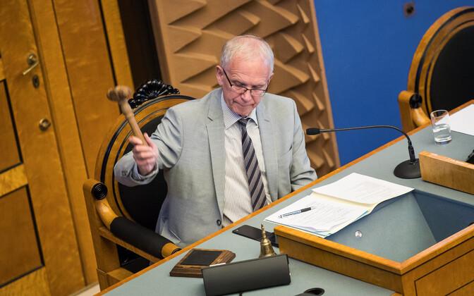 Riigikogu esimees Eiki Nestor.