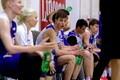 Eesti U-18 korvpallikoondise treening / Robin Kivi