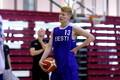 Eesti U-18 korvpallikoondise treening / Matthias Tass