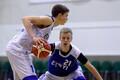Eesti U-18 korvpallikoondise treening / Robin Kivi ja Gregor Ilves