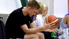 Eesti U-18 korvpallikoondise treening / Sander Raieste