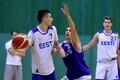 Eesti U-18 korvpallikoondise treening / Kristian Kullamäe