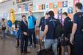 Maailmaliiga kolmanda tugevusgrupi võitnud võrkpallikoondis jõudis koju
