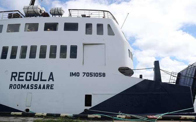 Ferry Regula in Paljassaare Harbor.