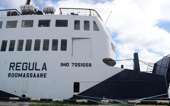 Ferry Regula in Paljassaare Harbor.