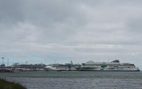 Судно Tallink.