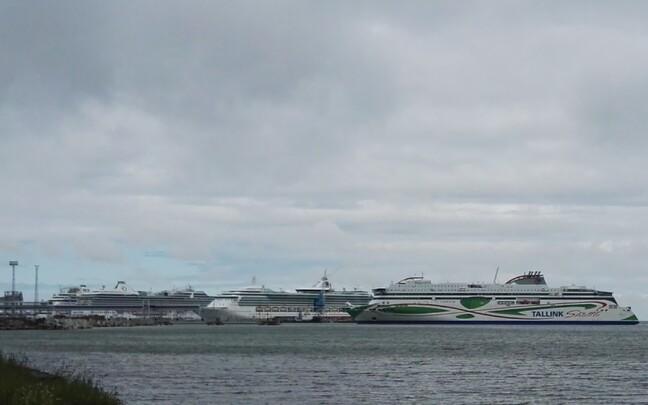 Tallinki laev.