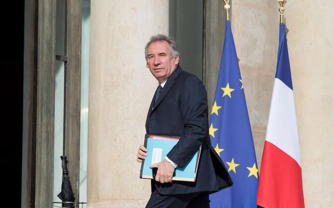 Prantsuse (nüüdseks juba endine) justiitsminister François Bayrou.