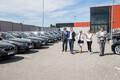 BMW Eesti esindaja silmad säravad, sest eesistumise VIP-ide ametlikuks autoks saamine on firmale hiilgav turunduskampaania. Aga säravad ka korraldajate silmad: autohange oli üks raskemaid, mis tuli korraldada. Nüüd on see otsale jõudnud!