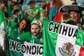 Матч на Кубке конфедераций между Мексикой и Новой Зеландией