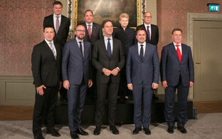 Benelux, Nordic and Baltic leaders met in the Hague on Wednesday night. June 21, 2017.