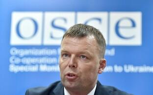 OSCE vaatlusmissiooni asejuht Alexander Hug.