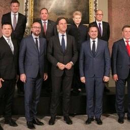 Юри Ратас на встрече в Гааге с представителями стран Бенилюкса, Балтии и Скандинавии.