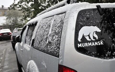 В Мурманске в середине июня выпал снег.