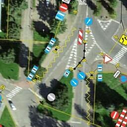 Схема движения на Нарвском вокзале.