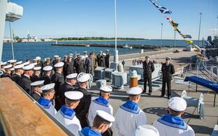 Tseremoonia Admiral Cowanil.