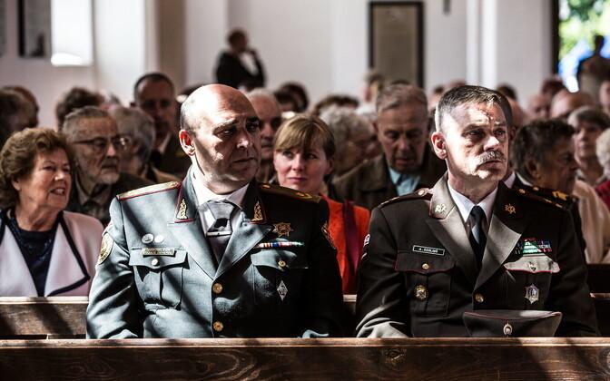 Jumalateenistus Tori kirikus